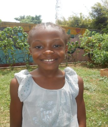 Blessing is so happy she has a sponsor!