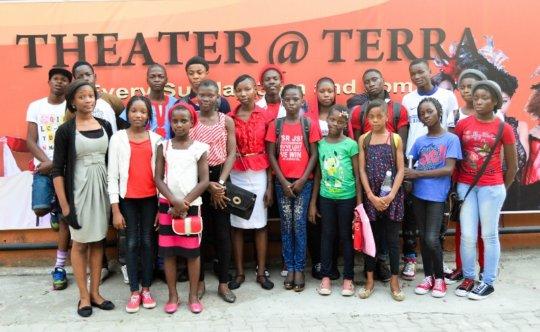 The FLA Kids at Terra Kulture