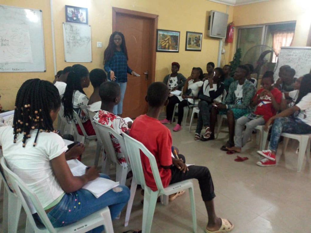 "Mrs Obioma takes the kids on ""Giving Back"""