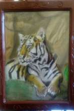 Ramon's Tiger Painting