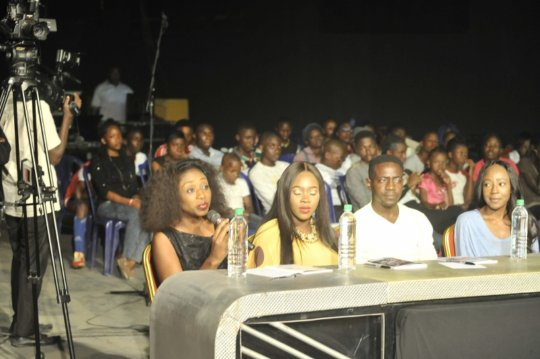 Abe, Ariyike, Biano and Kemi served as judges