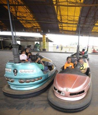 The kids had fun at Dreamworld Africana!