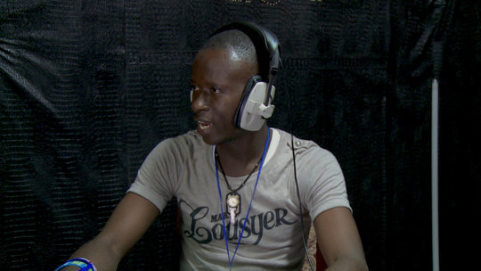 Ebola survivors like Ibrahim are key radio guests.