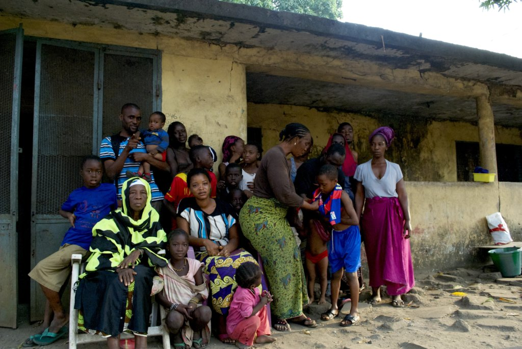 Ebola Survivor Dr. Gassama and community, Guinea