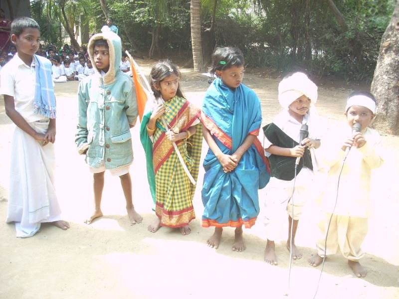 children in different dresses