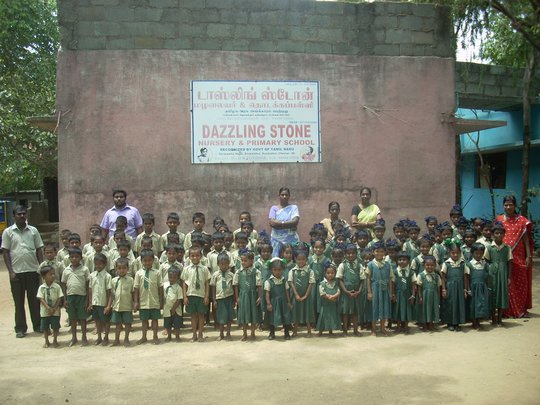 staff and children