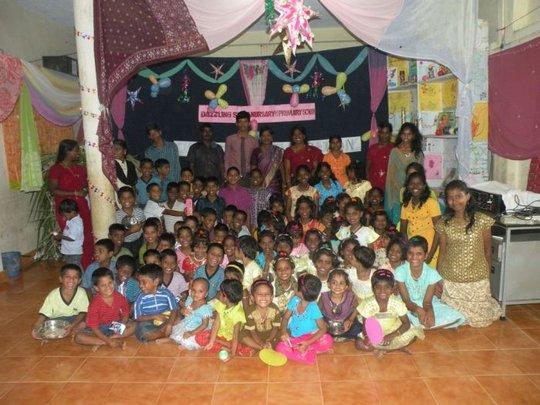 Xmas happy children