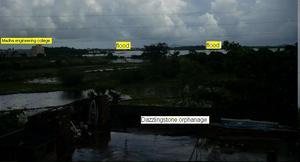 Flood  around dazzlingstone