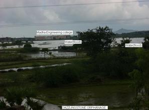 Flood arround dazzlingstone