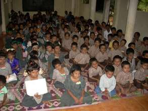 Children watching program