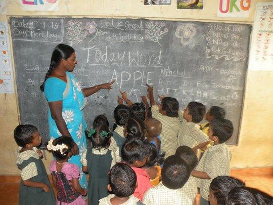 teaching daily word