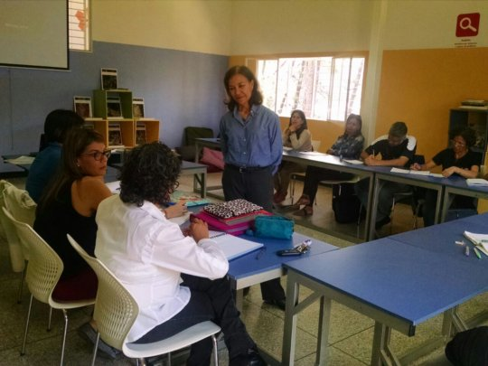 Community teachers at class sessions