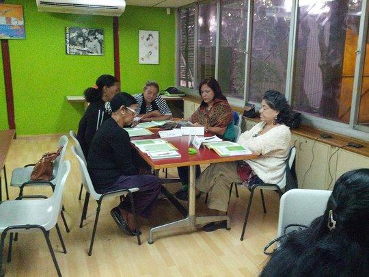 Women Entrepreneur team at class session