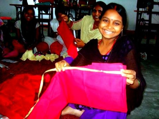 At our  sewing centre