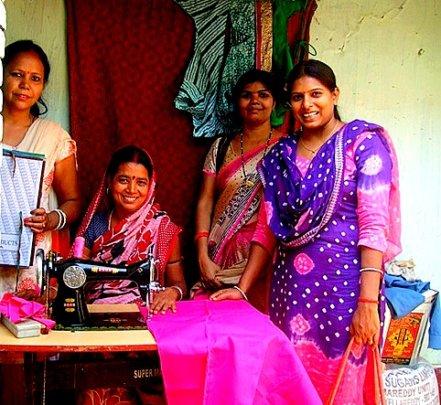 Sewing Machine owner in village