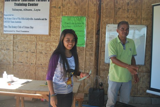 Send Typhoon Haiyan Affected Students to College
