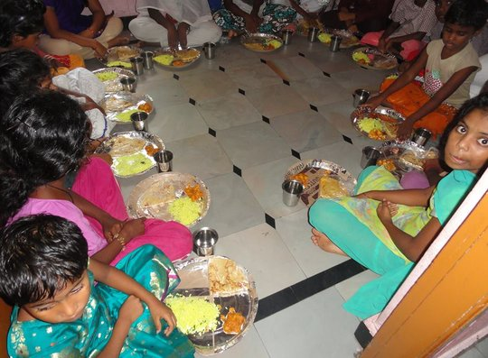 Provide Dinner for Underprivileged Children