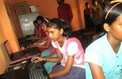 computer education to 100 students in kishanganj