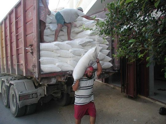 Food Distribution in the West Bank