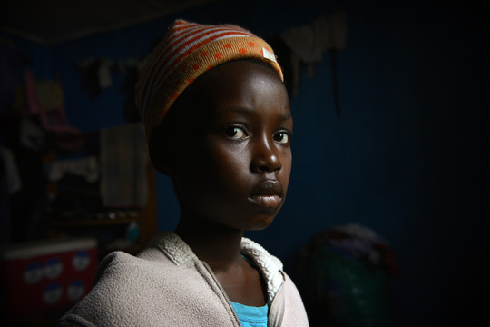 Young Girl in Ebola-Affected Sierra Leone