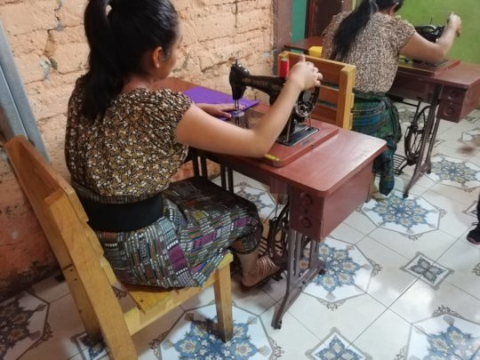 Sewing project in Guatemala