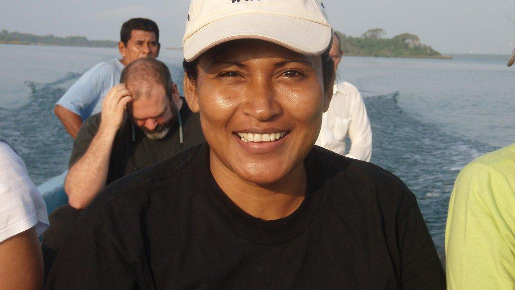Ms. Angélica Méndez, MAR fisherwoman