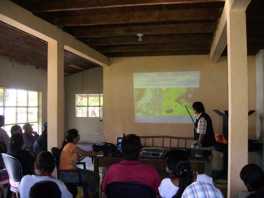Co-management workshop with fishermen