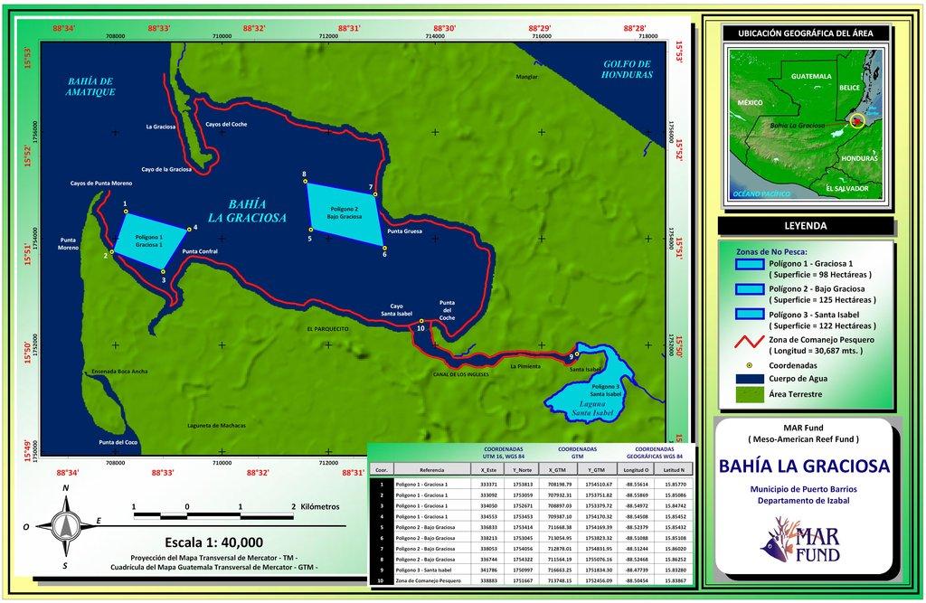 Bahia La Graciosa fishing co-management map