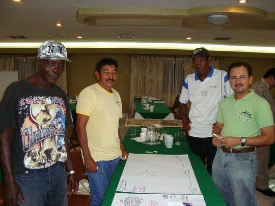 Fishermen from Honduras