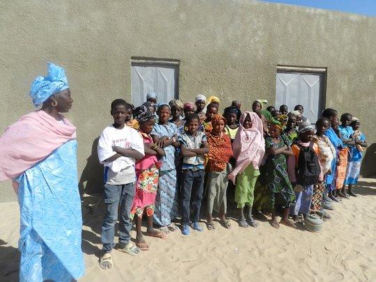 Rehabilitated Tourari school