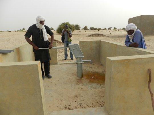 New Well in Tourari School