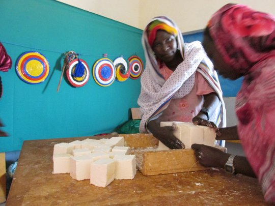 Soapmaking Program - Health & Income for Refugees