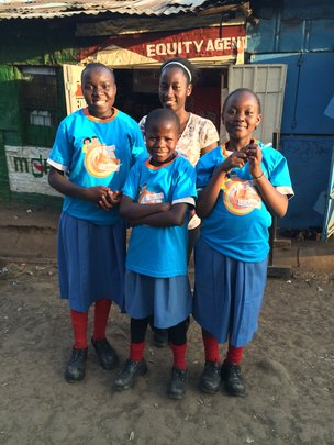 Some of the students who attended AkiraChix camp!