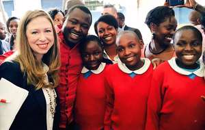 Chelsea Clinton, Kennedy and KSG students!