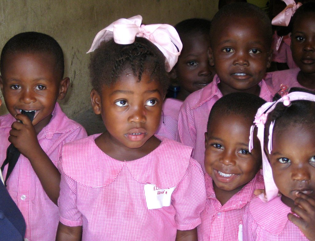 HOYAS: Give a book, empower a Haitian girl.