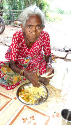 less privilege elder need love,care & meal support