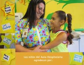 Classroom Teacher and child named Valentina