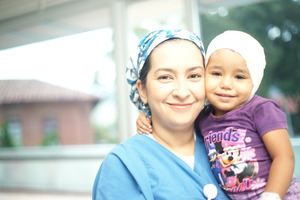 First Unity of children with burns in Antioquia