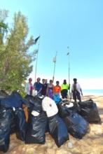 Beach clean!
