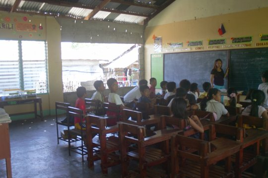 A Computer Lab for Planza Island School