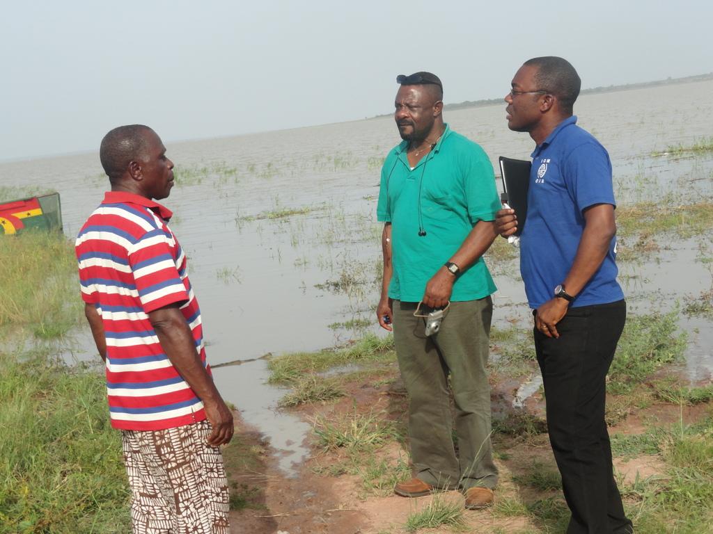 IOM and development partner negotiate release