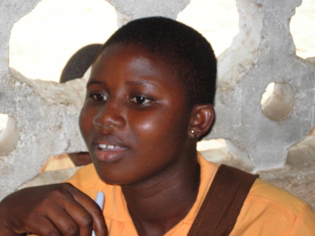 Mansah in class
