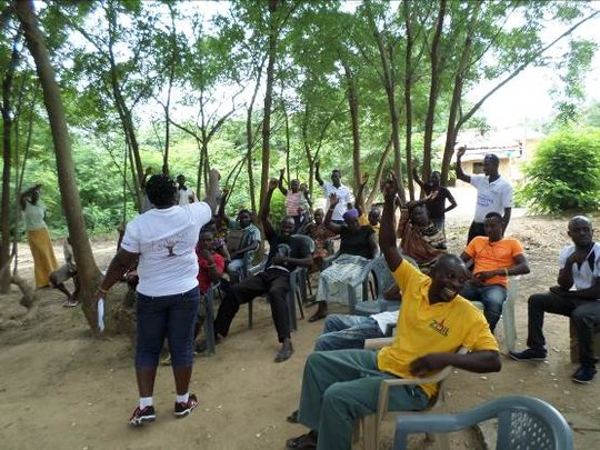 Community sensitization on child protection