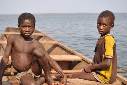 Trafficked Boys on Lake Volta