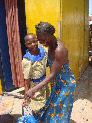 Mother Reuniting with Daughter