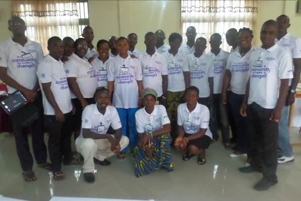Community youth volunteers