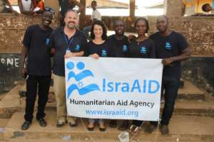 IsraAID's team in Sierra Leone