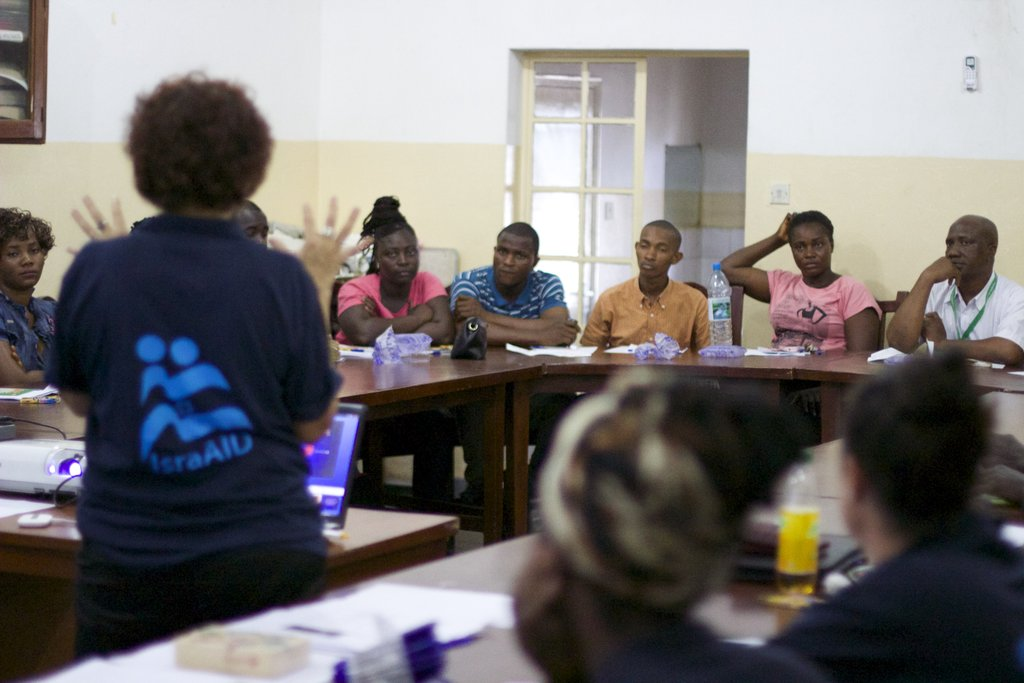 Psycho Social support for Ebola victims
