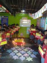 Diwali + State Formation Day
