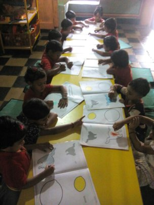 Gift Preschool Education to Children in India